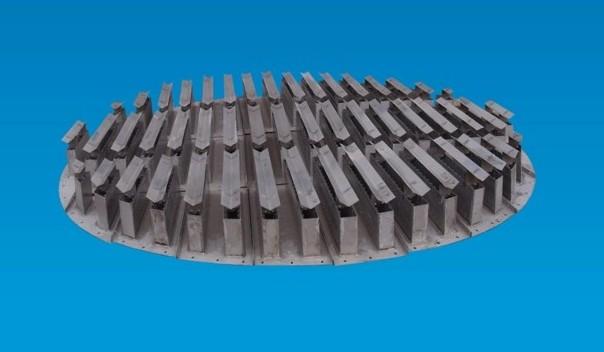 槽式液体分布器性能